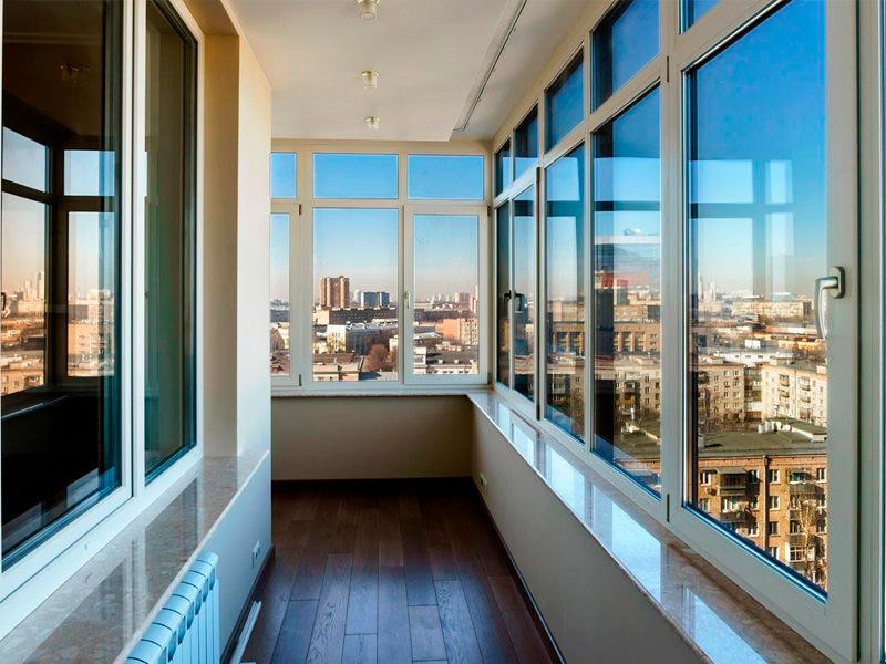 Остекление балконов, остекление лоджии, пластиковый балкон ц.